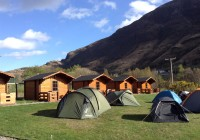 Cabins and Campsite