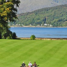 Golf near fort William