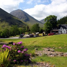 Clachaig - in the heart of Glencoe