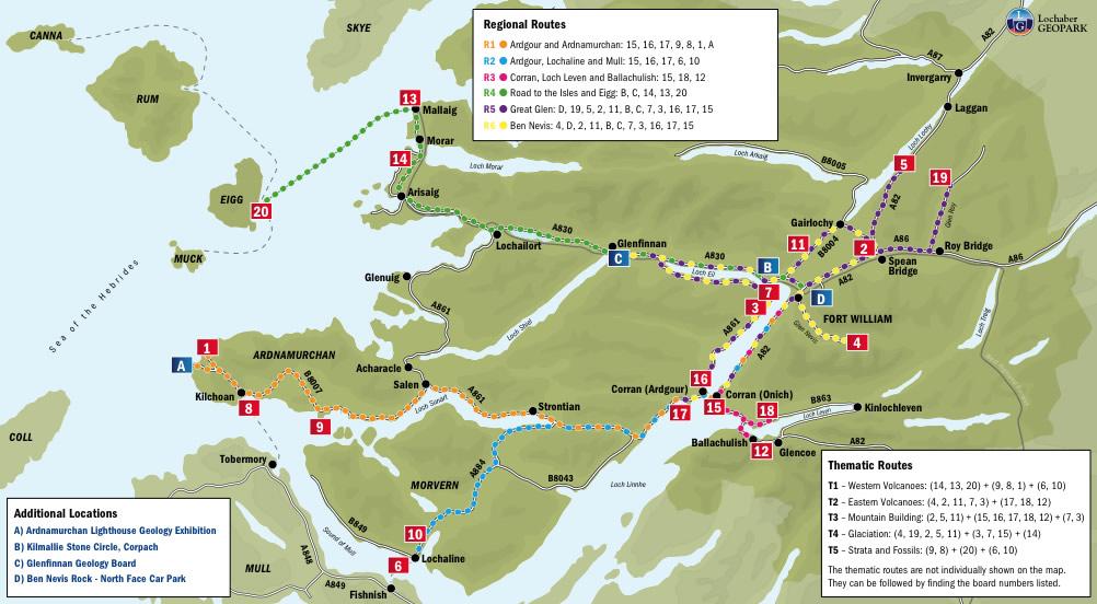 lochaber, geopark, geology, routes, glencoe, ballaculish