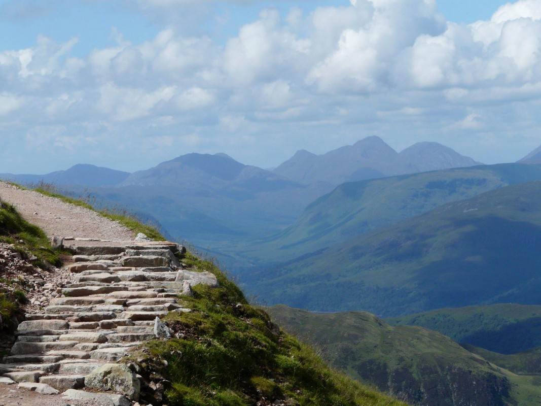 Ben Nevis Scottish Highlands Walking Holiday - Country ...