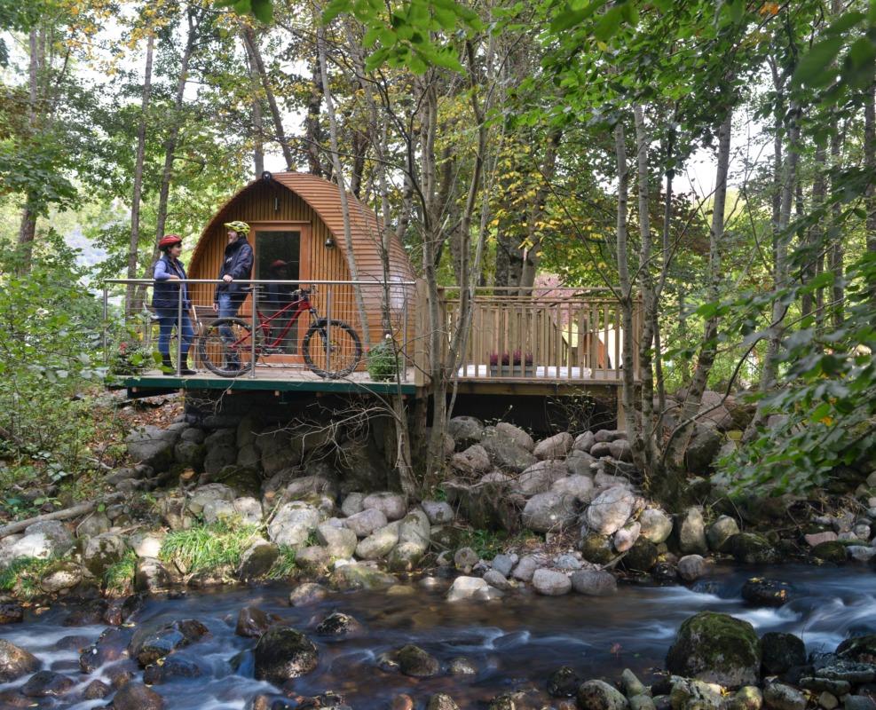 Creepy Cabin In The Woods California