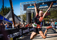 Salomon first female ring of steall race